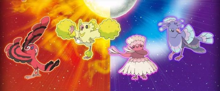 oricorio pokemon sun and moon