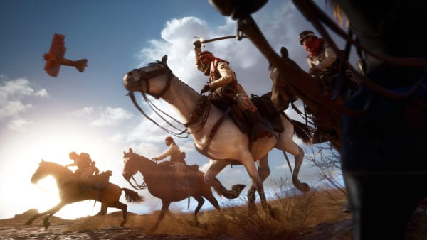 battlefield 1, horses
