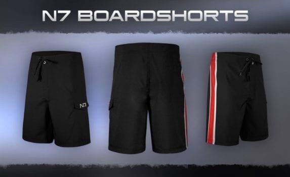 Mass Effect N7 Swim Shorts