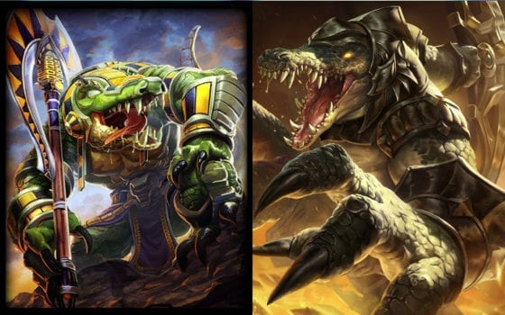 Sobek (Smite) vs Renekton (League of Legends)