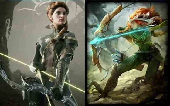 Artemis (Smite) vs Sparrow (Paragon)