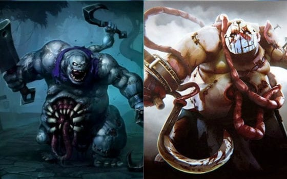 Stitches (Heroes of the Storm) vs Pudge (Dota 2)