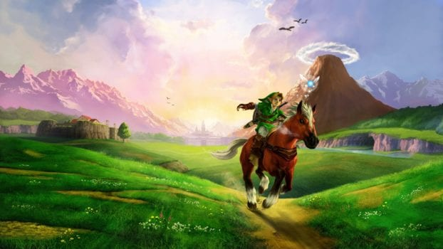 Link & Epona (The Legend of Zelda) - Equestrian Jumping