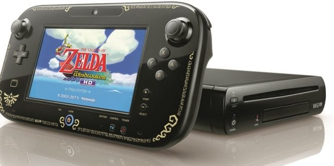 The Legend of Zelda: The Wind Waker Wii U Gamepad