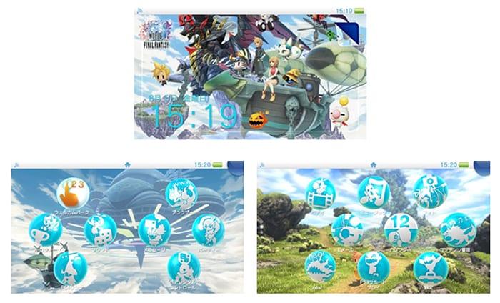 world of ff vita theme