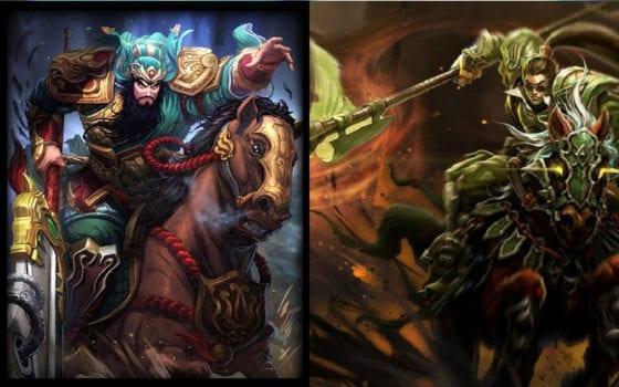 Xin Zhao (League of Legends) vs Guan Yu (Smite)