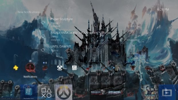 ps4 themes download