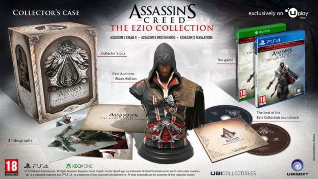 The Long-Rumored Ezio Collection Was Confirmed, a Collector's Edition Is on the Way Too