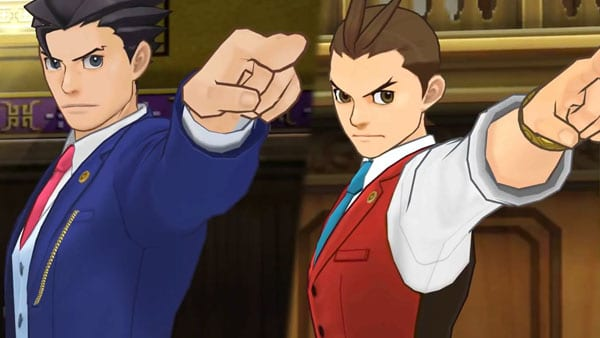 Phoenix Wright Spirit of Justice
