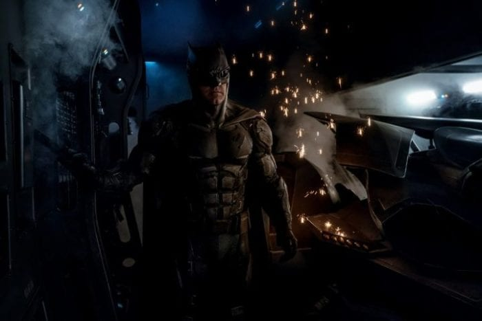Tactical Batsuit from Justice League