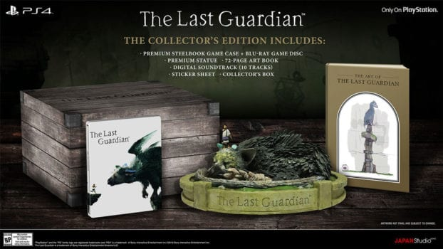 June 2016 - The Last Guardian Gets an Official Release Date