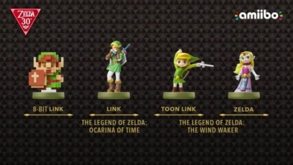 Legend of Zelda Amiibos