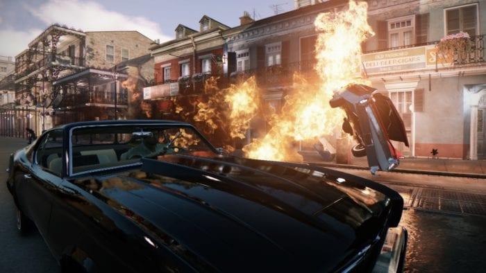 Mafia III – Car explosion