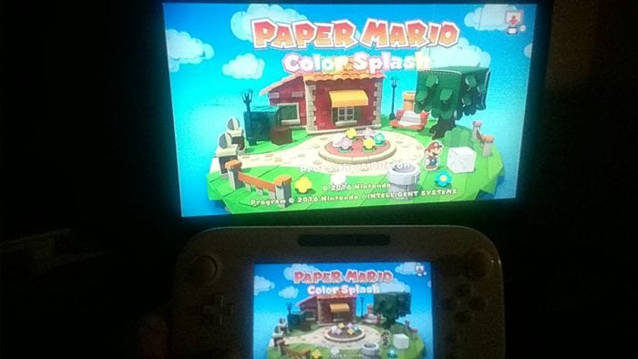 paper mario color splash releases early