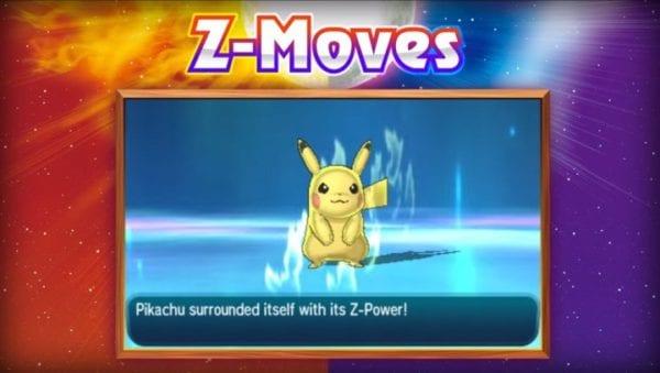 Z-Moves, Pokemon Sun and Moon