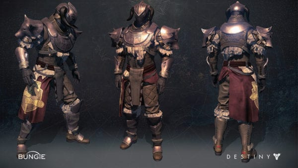 Destiny Rise of Iron: All New Iron Banner Legendary Armor