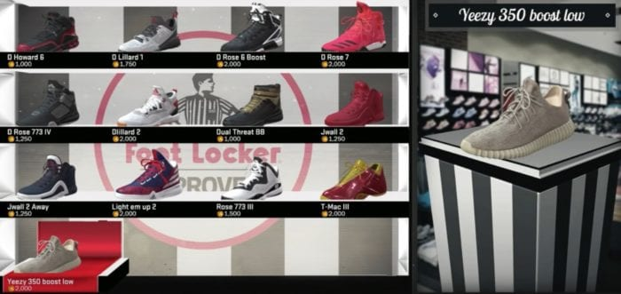 NBA 2K17 How To Get The Yeezy Boost 350 Sneakers