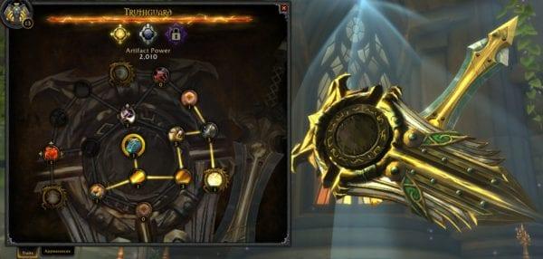 World of Warcraft Legion, Artifact Weapon