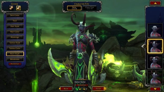 World of Warcraft Legion, Demon Hunter