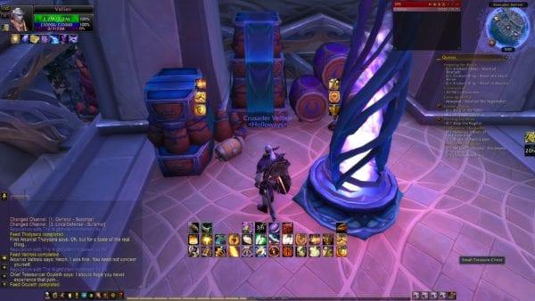 World of Warcraft Legion, Treasure Chest