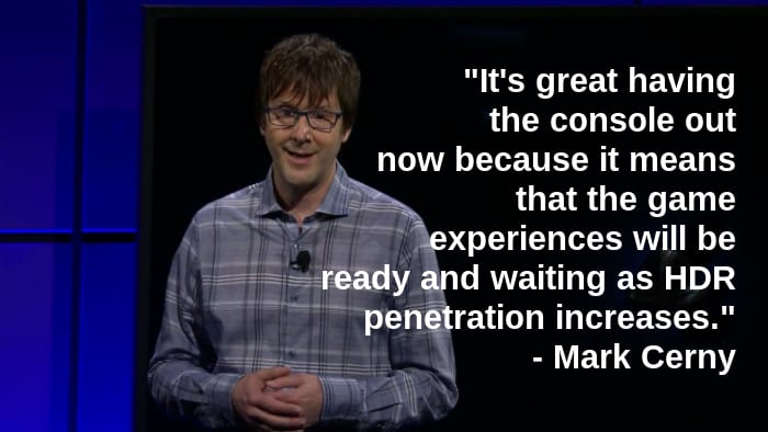Mark Cerny quote