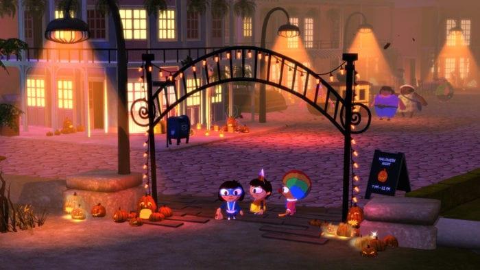 costume quest, autumn
