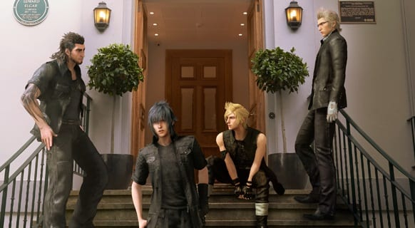 final fantasy xv abbey road