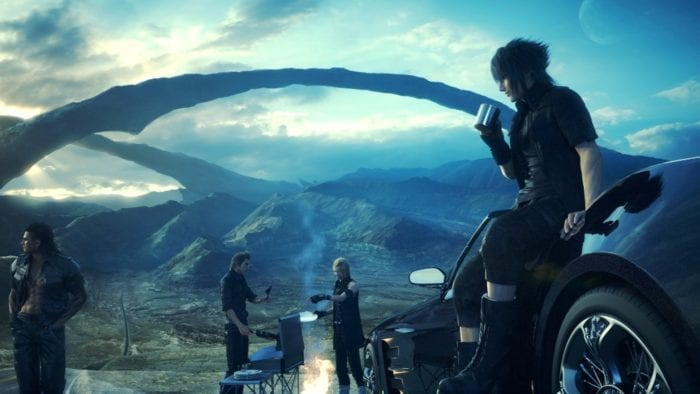 final fantasy xv, newcomer