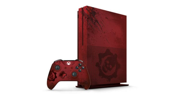 Gears of War 4, Xbox One S