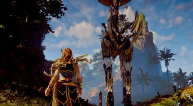 horizon zero dawn ps4 pro playstation meeting
