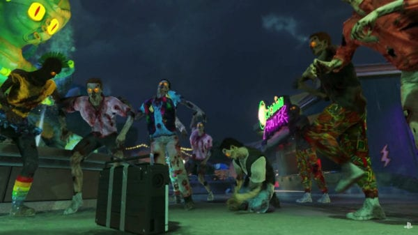 more zombies in spaceland