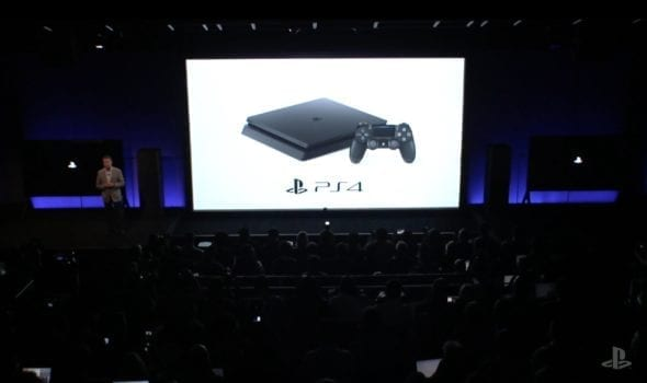 PlayStation Slim announced with a release date and price.
