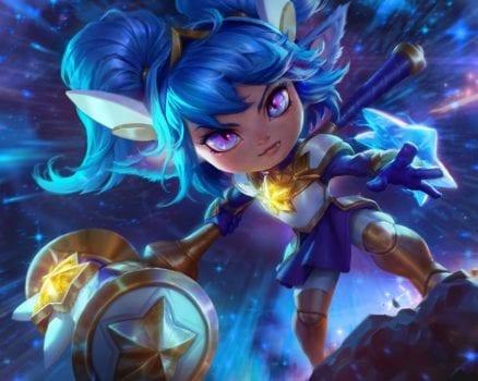 League of Legends Star Guardian Poppy Splash Art