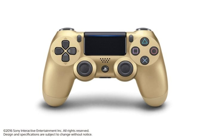 PS4, Gold DuelShock