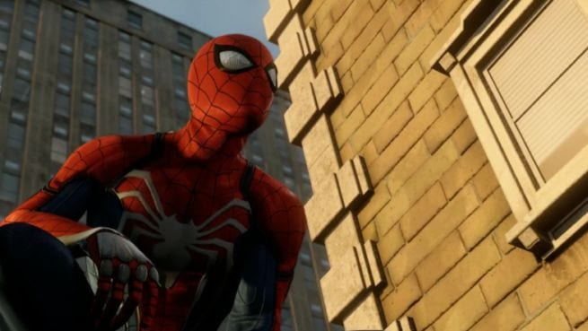 spider-man ps4 pro playstation meeting