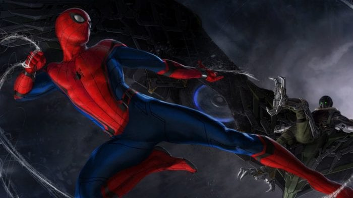 Spiderm-Man Homecoming with Vulture