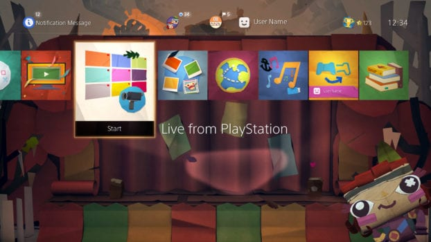 Tearaway Unfolded: The Gopher Show! Dynamic Theme