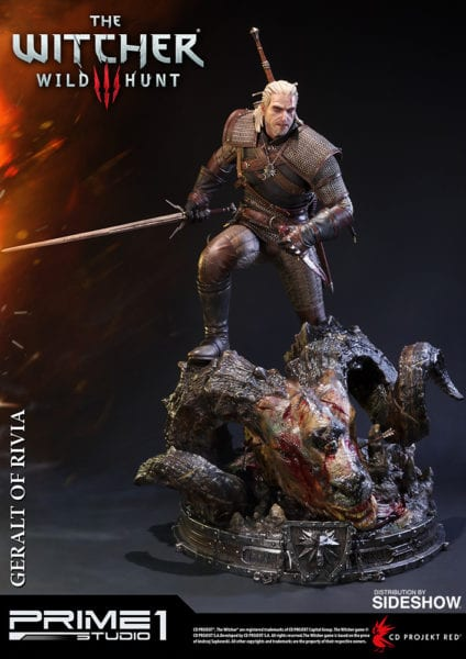 Witcher III Wild Hunt Statue