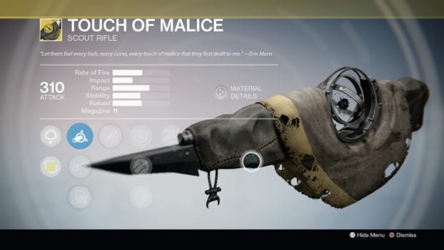 #5 Touch of Malice