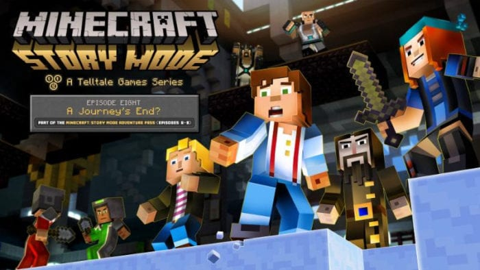 Minecraft: Story Mode's eighth episode will end the tale on Sept. 13