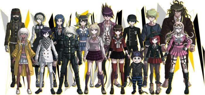 New Danganronpa V3 Cast