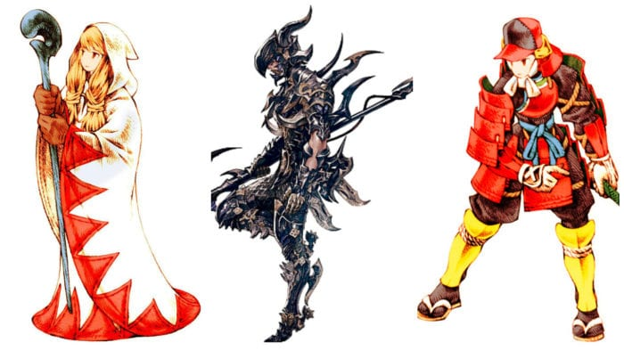 Final Fantasy Best Jobs