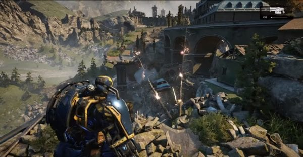 All gears of war 4 easter eggs and how to get them in act 5 of gears of war 4s campaign youll find yourself jumping into a giant mech as you battle your way through the hordes of swarm solutioingenieria Images