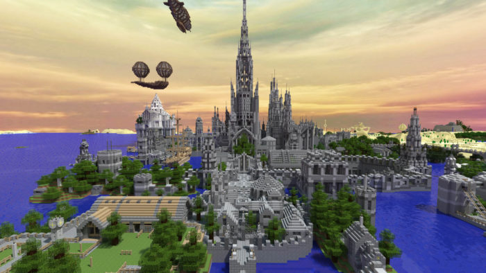 Minecraft Player Spends 5 Years Creating This Stunning Castle