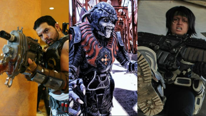 gears of war, gears of war 4, cosplay