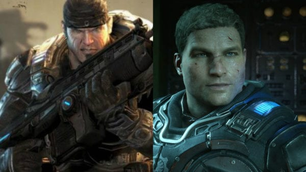 JD, Marcus, Gears of War