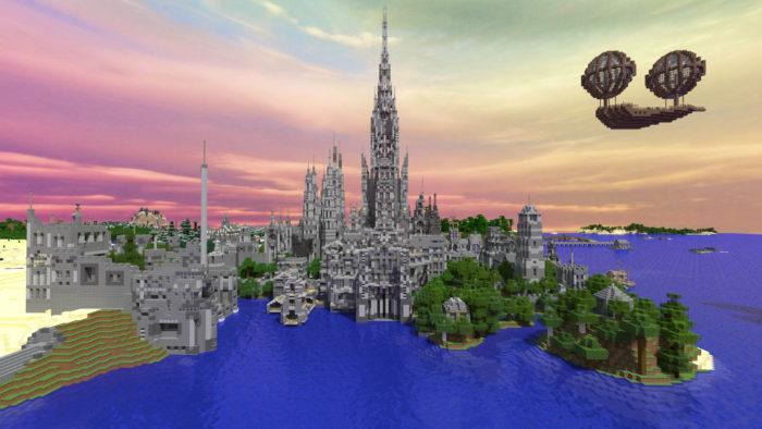 Minecraft build 5 years