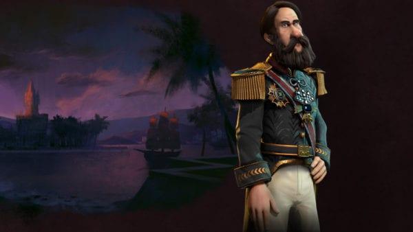 CIVILIZATION VI: PEDRO II LEADS BRAZIL