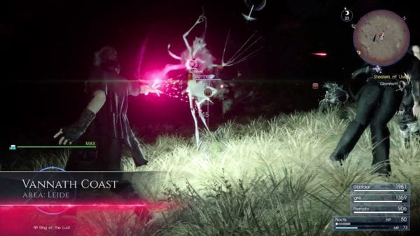 final fantasy xv death magic