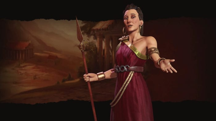 Civilization VI to Have Multiple Leaders Per Civ, Gorgo Revealed for Greece
